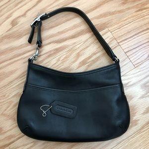 COACH 9295 Mini Black Hobo Bag Purse Legacy